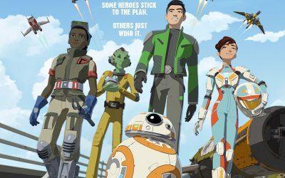 STAR WARS RESISTENCE   Nova animação da saga ganha vídeo de personagens!