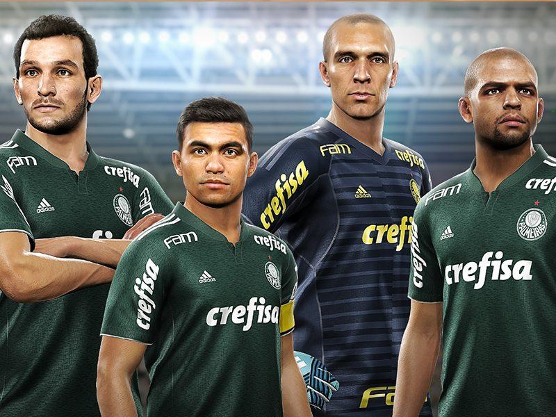 KONAMI | Pes 2019 terá conteúdo exclusivo do Palmeiras após parceria!