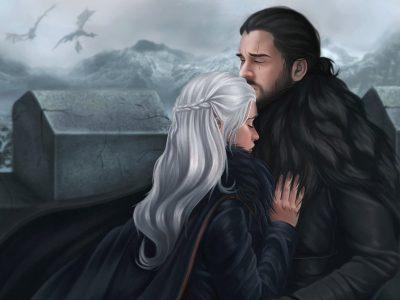 Game Of Thrones O Encontro De Jon Snow E Daenerys Targaryen