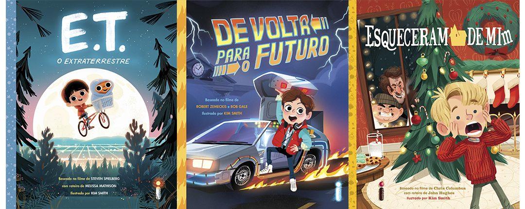 INTRÍNSECA   Grandes filmes da cultura pop viraram livros infantis na coleção Pipoquinha