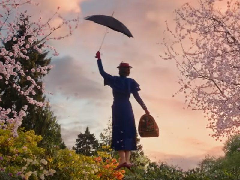 O RETORNO DE MARY POPPINS   A babá está de volta com estilo no trailer do filme!