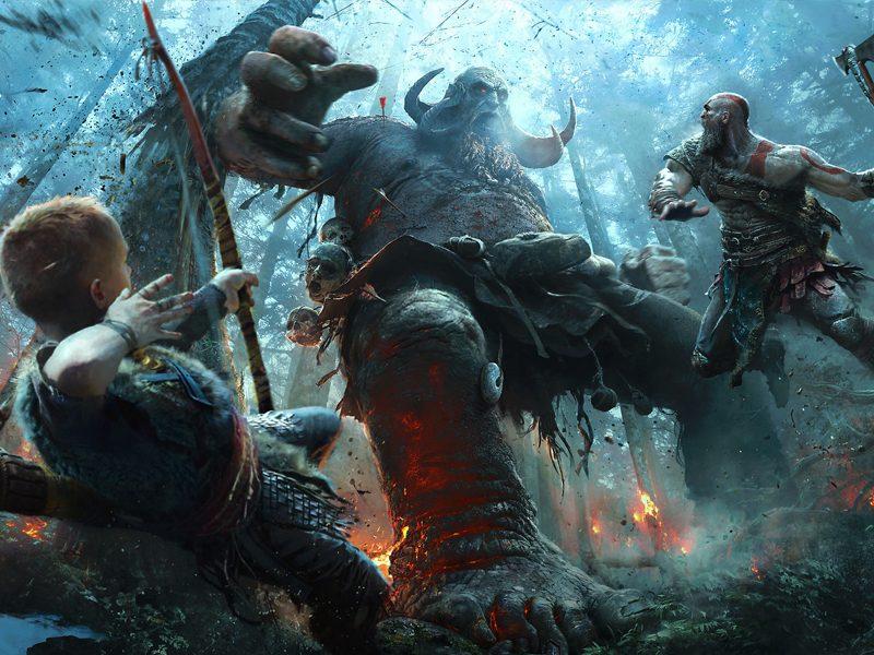 GOD OF WAR | Cory Barlog, Diretor do jogo estará na BGS para conversar com os fãs!
