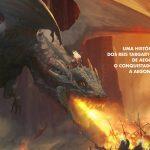 GAME OF THRONES | George R. R. Martin divulga capa brasileira de Fogo e Sangue!