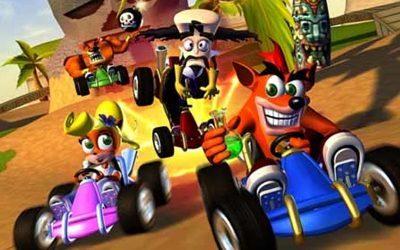 GAME XP   Seja um verdadeiro piloto na atração de Crash Bandicoot!