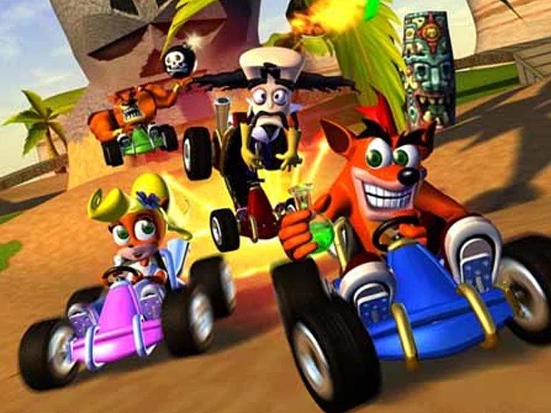 GAME XP | Seja um verdadeiro piloto na atração de Crash Bandicoot!