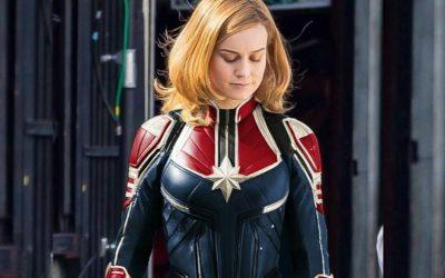 CAPITÃ MARVEL | Revista libera as primeiras imagens da heroína com o traje!