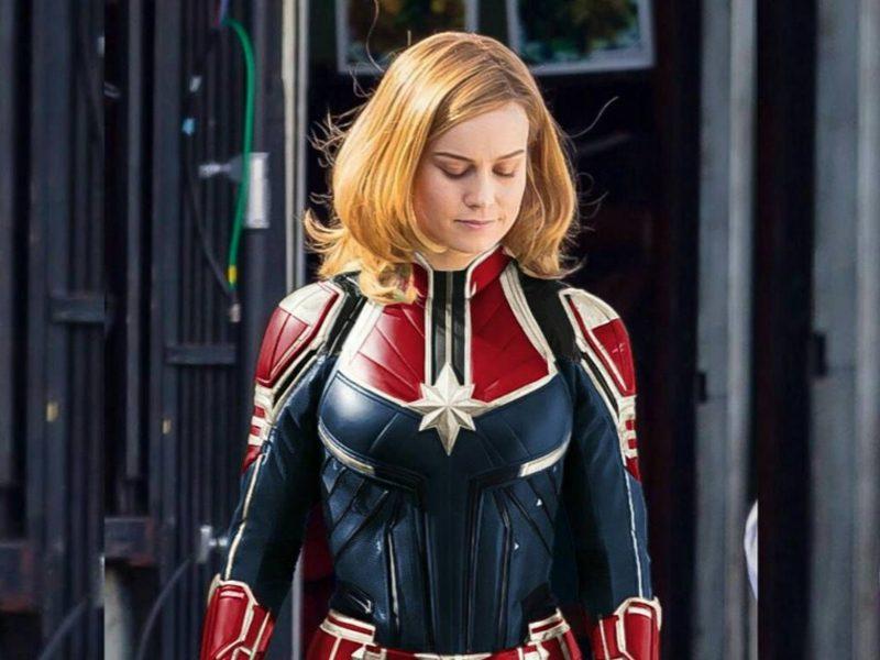 CAPITÃ MARVEL   Revista libera as primeiras imagens da heroína com o traje!