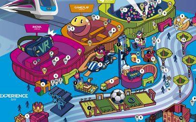 GAME XP   It's Dangerous to go alone, leve essa mapa do Game Park para você não se perder!
