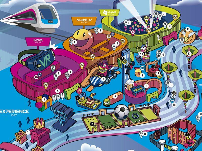GAME XP | It's Dangerous to go alone, leve essa mapa do Game Park para você não se perder!