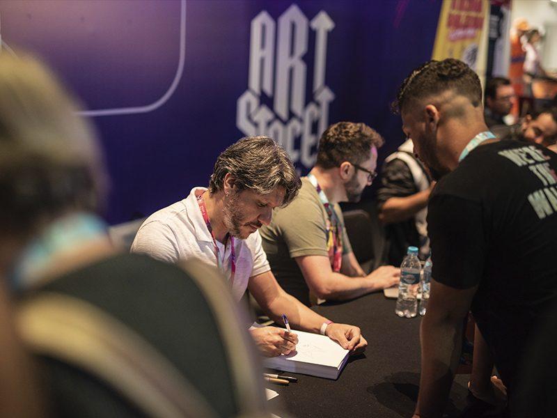 GAME XP | Sábado foi marcado com campeonatos de jogos e conversas entre fãs e artistas!