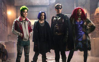 TITÃS   Os heróis estão reunidos em novas fotos da série da DC!
