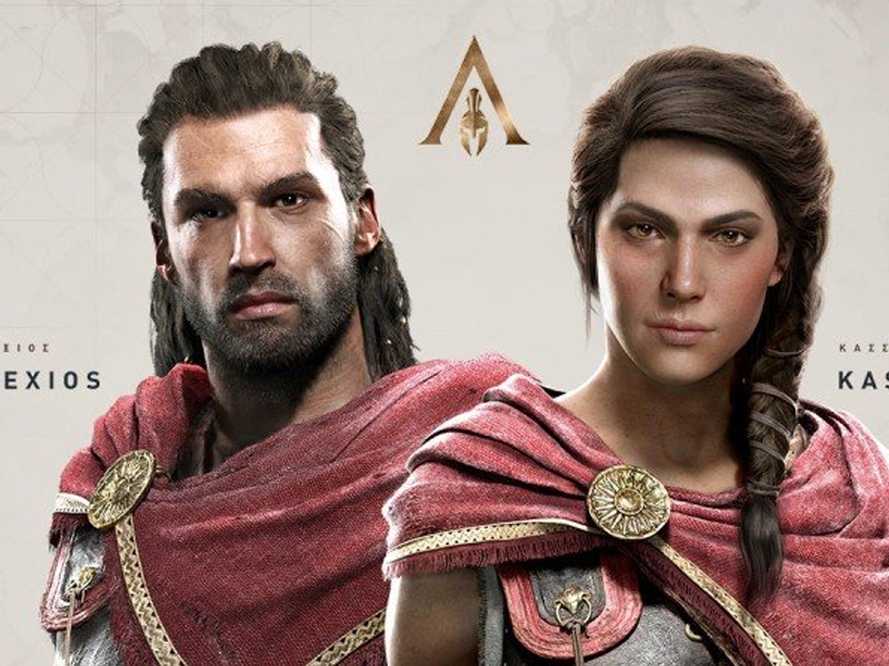 ASSASSIN'S CREED: ODISSEY   Confira quem são os principais dubladores do jogo!