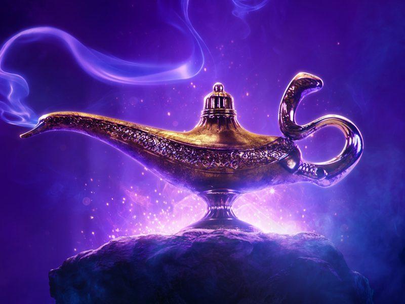 ALADDIN   Filme live-action da Disney ganha seu primeiro pôster!