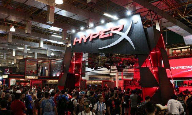 BGS | O que tem de melhor no incrível estande da Hyper X?