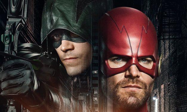 DC UNIVERSE | Stephen Amell aparece com o traje de Flash em nova foto do crossover!