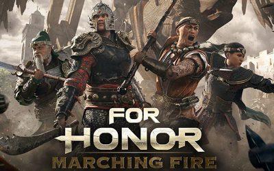 FOR HONOR   Ubisoft lança Marching Fire, uma das maiores expansões do jogo!