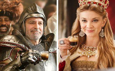 NESPRESSO | George Clooney é um cavaleiro medieval em nova campanha!