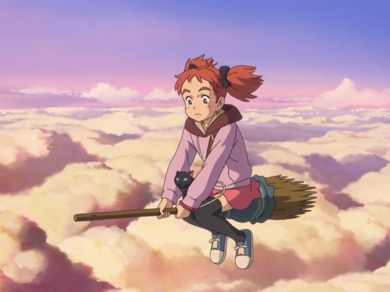 MARY TO MAJO NO HANA | Uma animação japonesa sobre magia!