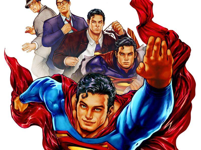CCXP   Pôster oficial do evento homenageia o aniversário do Superman!