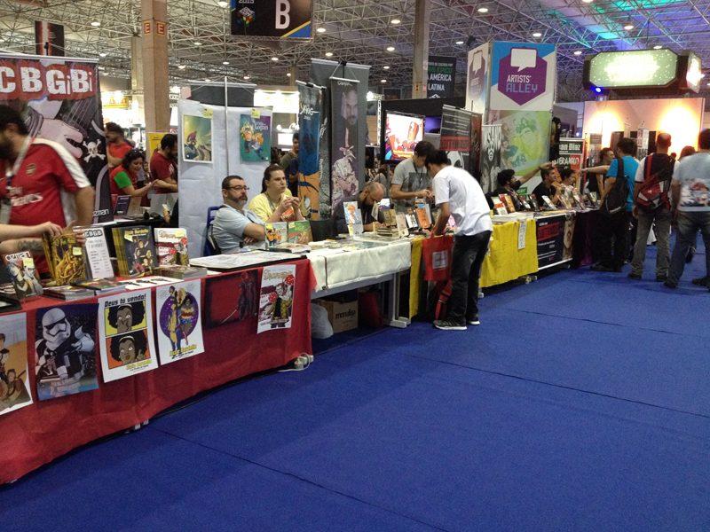 CCXP   Evento terá a maior Artists' Alley de todo Hemisfério Sul!