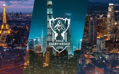 LEAGUE OF LEGENDS   Próximas sedes do Mundial já foram reveladas!
