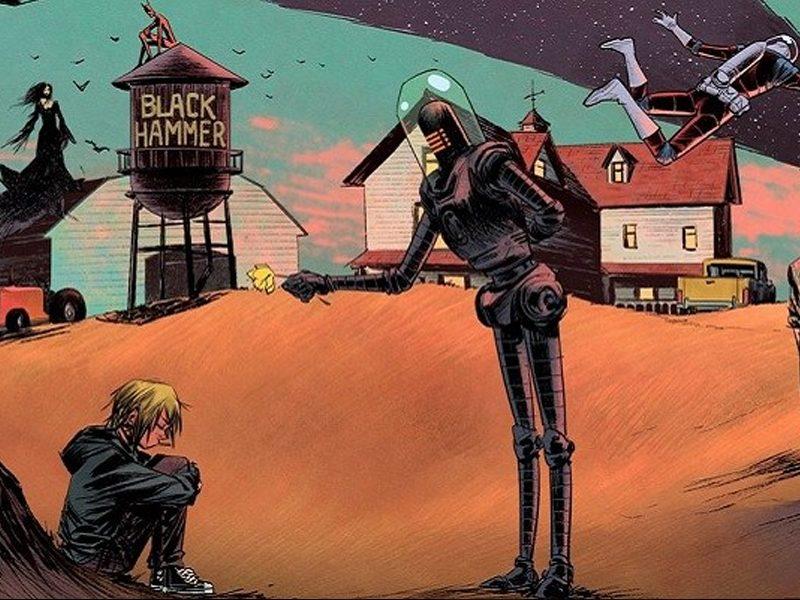 BLACK HAMMER | Edição O Evento finalmente chegou!