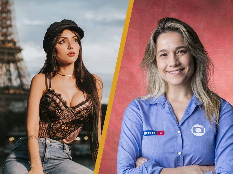 GAMES | Nyvi divide palco com Fernanda Gentil em premiação!