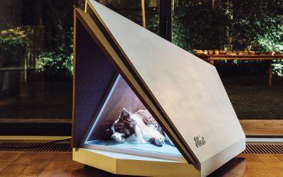 FORD   Empresa cria casinha que protege os animais de barulhos!