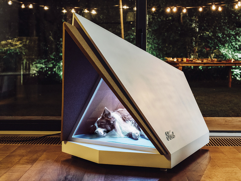 FORD | Empresa cria casinha que protege os animais de barulhos!
