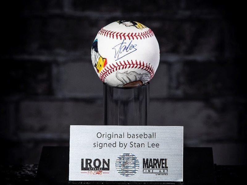 CCXP   Artes com assinatura de Stan Lee estarão no estande da Iron Studios!