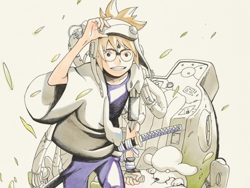 SAMURAI 8 | Criador de Naruto lança mangá Cyberpunk!