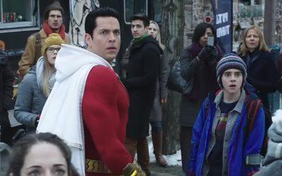 SHAZAM | Trailer inédito mostra os poderes do herói e luta frenética!