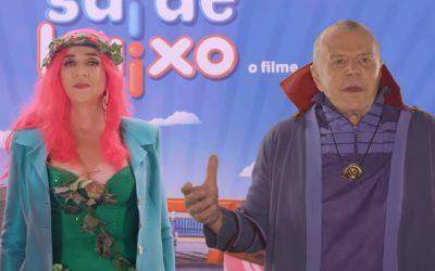 SAI DE BAIXO | Heróis do cinema participam de novo comercial!