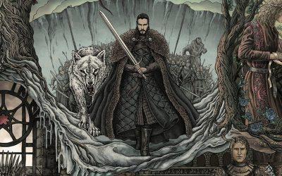 GAME OF THRONES | A história de Westeros em uma tapeçaria