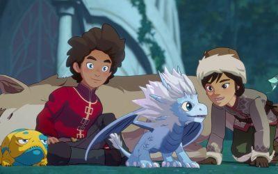 O PRÍNCIPE DRAGÃO   Trailer da nova temporada traz lindos traços para a série!