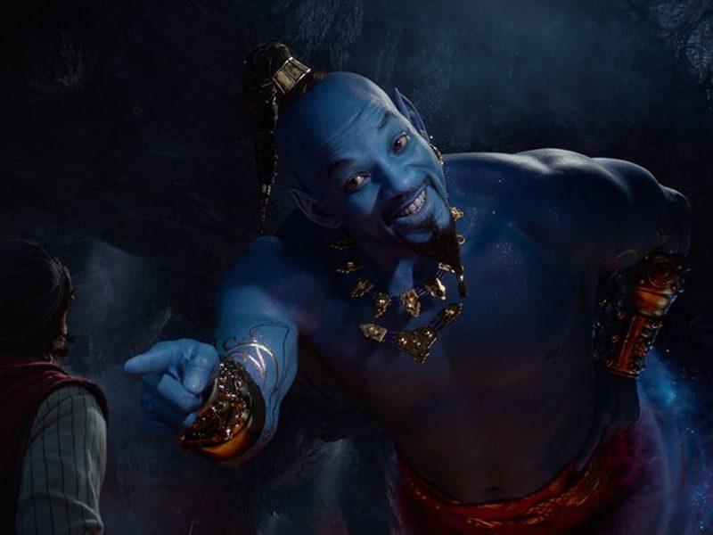 ALADDIN   Trailer revela a aparência do Gênio e sofre críticas!