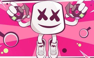 FORTNITE | Confira o show do DJ Marshmallow no jogo!
