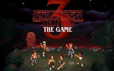 STRANGER THINGS   Nintendo Switch ganhará jogo junto da estreia da nova temporada!