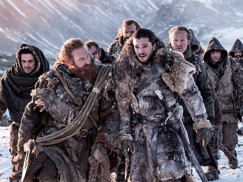 GAME OF THRONES | Sangue e neve na batalha final!