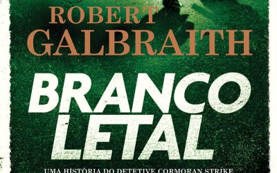 BRANCO LETAL | Novo livro de J.K. Rowling está em pré-venda