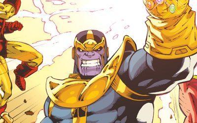 MARVEL   Panini relança saga clássica de Thanos!