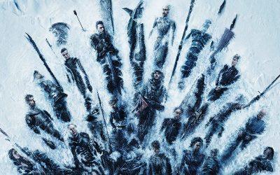 GAME OF THRONES | Novo cartaz e teaser mostram trono de mortos!