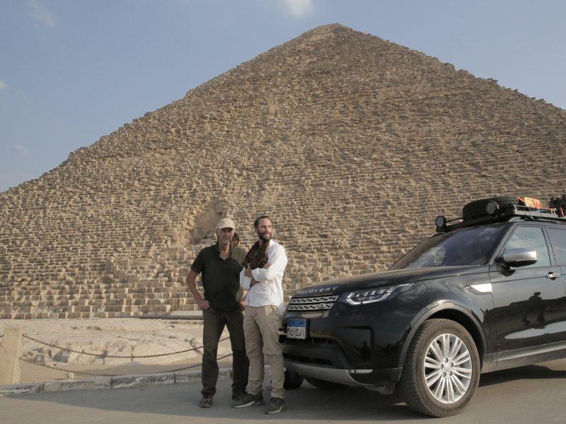 O MAIOR EXPLORADOR DO MUNDO: O RETORNO AO NILO | Joseph e Ranulph Fiennes de volta!