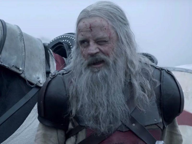 KNIGHTFALL | Mark Hamill, o Luke Skywalker, é mestre de Cavaleiros Templários no History!