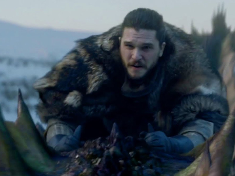 GAME OF THRONES | Por que Jon Snow montou no dragão?