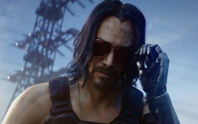 CYBERPUNK 2077 | Sem aviso, Keanu Reeves entra no jogo e sobe no palco!