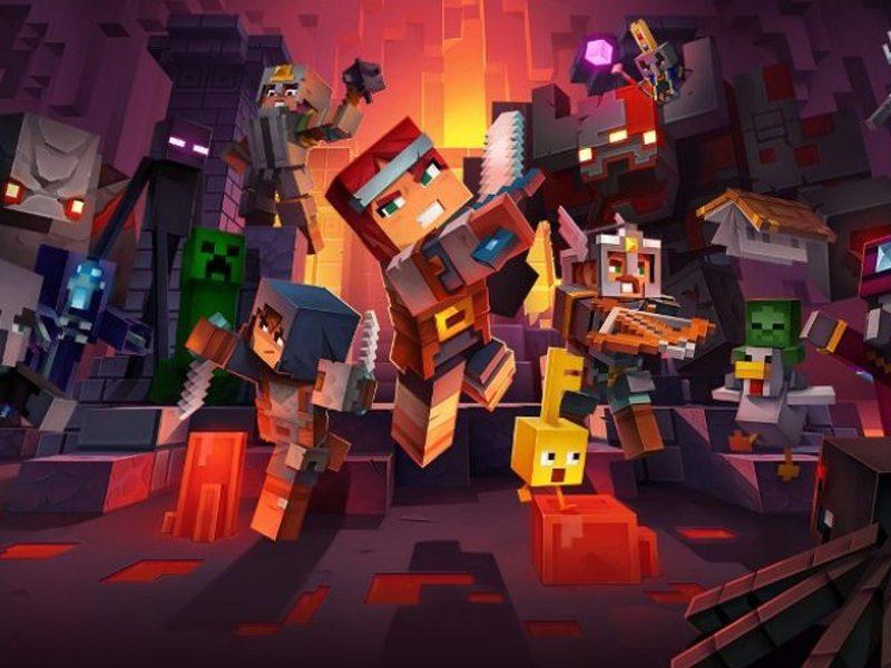 MINECRAFT DUNGEONS | Novo jogo da franquia promete ter elementos de RPG!