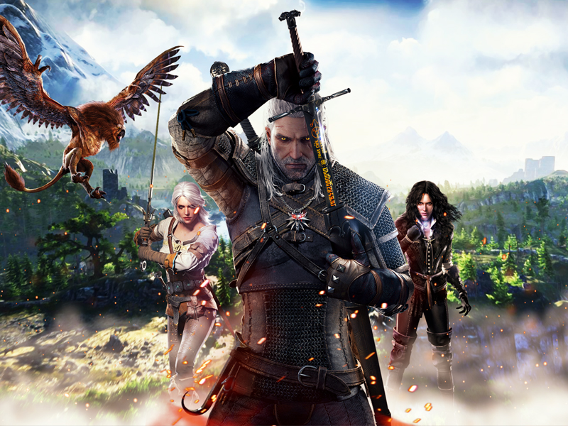THE WITCHER 3 | Jogo é confirmado para Nintendo Switch durante a E3!
