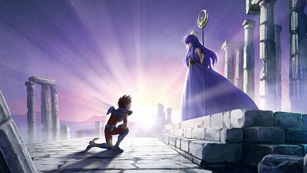CAVALEIROS DO ZODÍACO   Anime ganha trailer inédito!