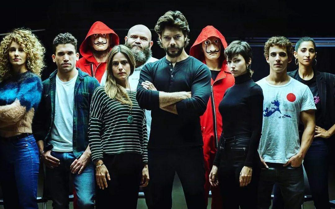CCXP | Netflix anuncia Elenco de La casa de papel e Esquadrão 6!
